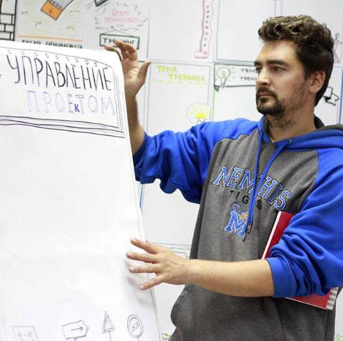 Егор Винокуров, составитель Иллюстрированного Интерактивного Этимологического Словаря