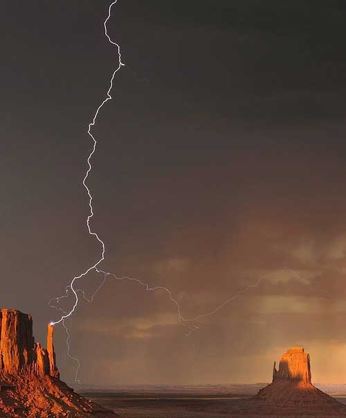 Молния - если не усвоил, чем опасна - поплатился
