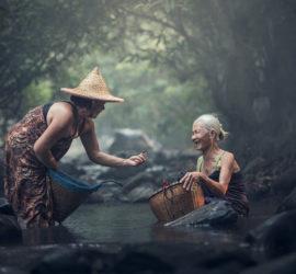 Купец и купать - происхождение слова