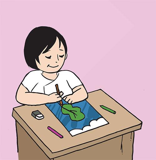 Можно воспитать способность рисовать